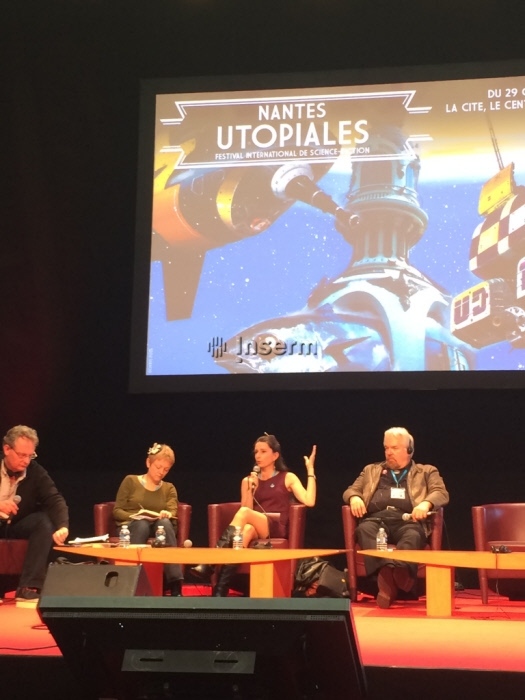 Table ronde Utopiale